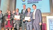 BB, DIU, Jobsbd.com win 'Global Inclusion Awards'