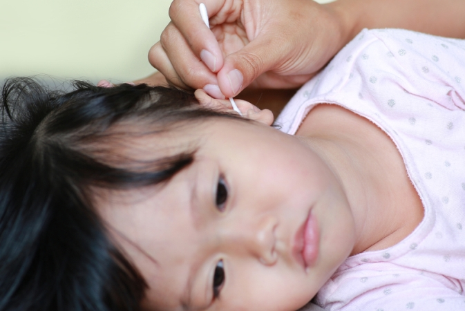 Cotton buds may be hazardous for children: study