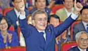 Moon wins S Korean presidential polls