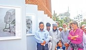 Solo photography exhibition by Shahidul Alam held