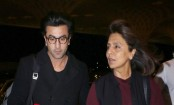Did Ranbir Kapoor go to London with his mother to meet a girl?