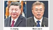 Xi Jinping, Moon agree denuclearising N Korea