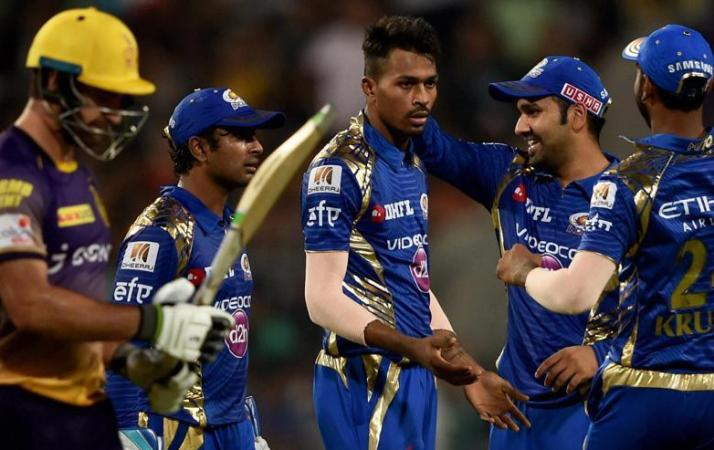 Mumbai finish top of IPL table after beating Knights Riders