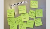University bucket list