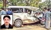 NAPE DG killed, four others injured in Ctg road crash