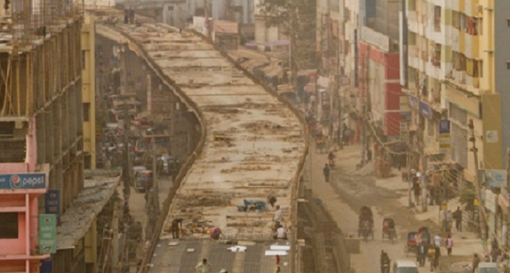 Karwan Bazar-FDC flyover to be opened Wednesday