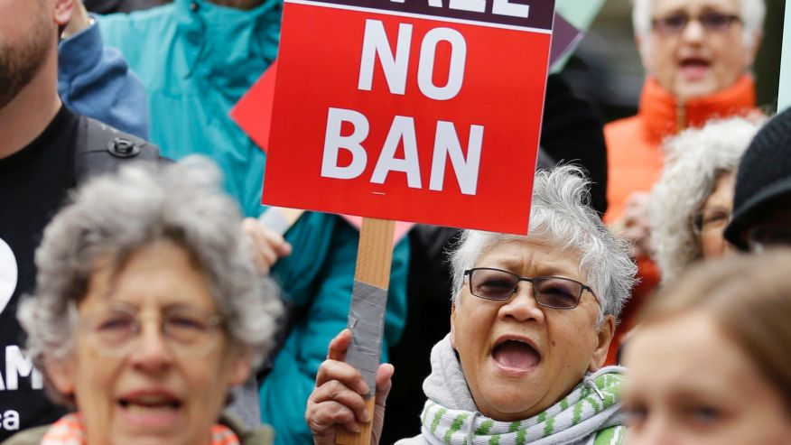 Federal judges ask if travel ban is biased against Muslims