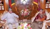 Prime Minister calls on President at Bangabhaban