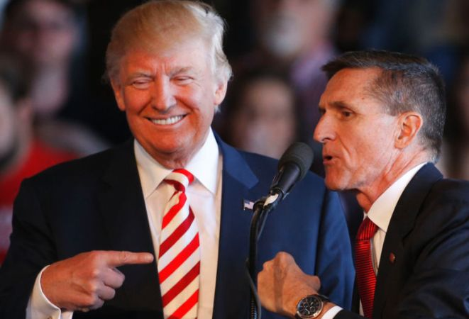 Trump 'asked FBI to halt Flynn inquiry'