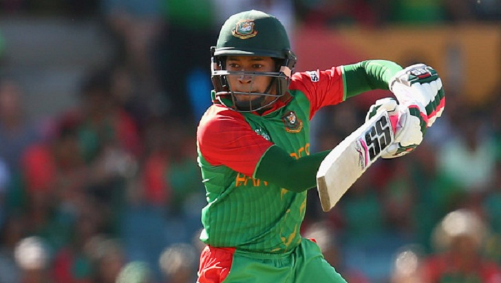 Mushfiq falls after fifty, Bangladesh 186/5