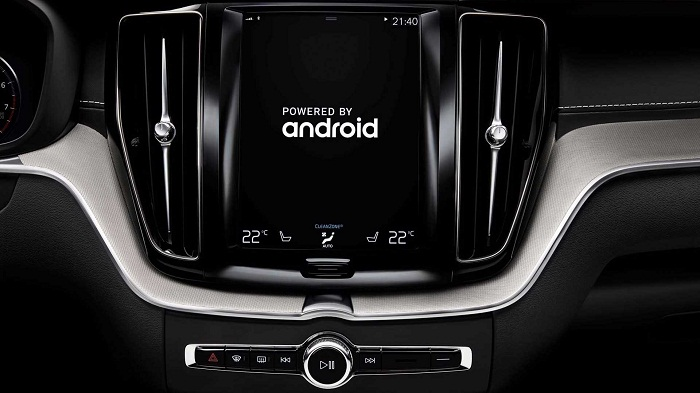 Volvo partners with Google for android based cars