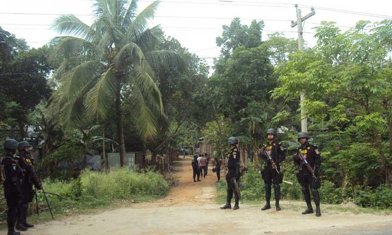 Drive at Porahati militant den resumes