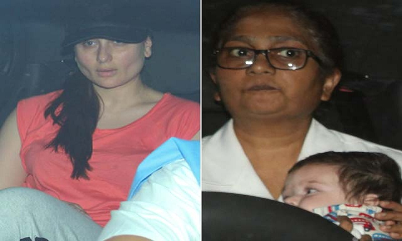 Kareena Kapoor takes Taimur for an outing