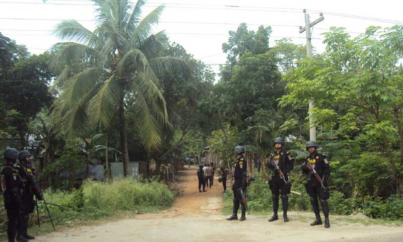 Drive at Porahati militant den ends