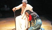 Udichi stages 'Half Akhrai' at Shilpakala Academy today