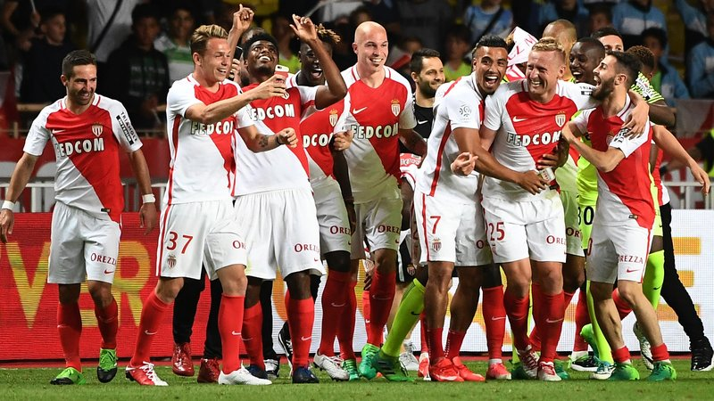 Monaco win first French league title in 17 years