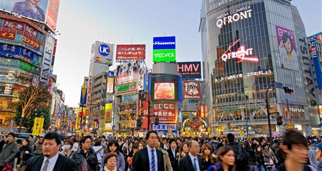 Japan economy expands at 2.2 percent annual pace in Jan-Mar