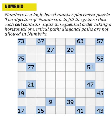 Numbrix