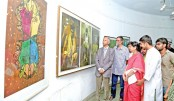 Indo-Bangla art exhibition begins at DU