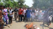 MATS students, Chhatra Front men clash with cops at Shahbagh