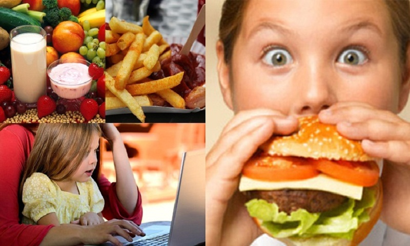 Is your kid addicted to junk food? Computer game may solve the problem