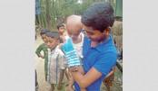 Bringing Smile To Sunamganj Haor Kids' Faces