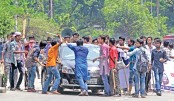 25 hurt as MATS students clash with police in city