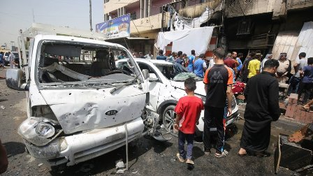 Iraqi officials: Car bombings in Baghdad kill 11 people