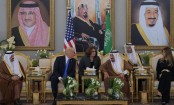 US President Trump and Saudi King Salman meet in Riyadh
