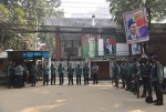 Police launch search drive at Khaleda's Gulshan office