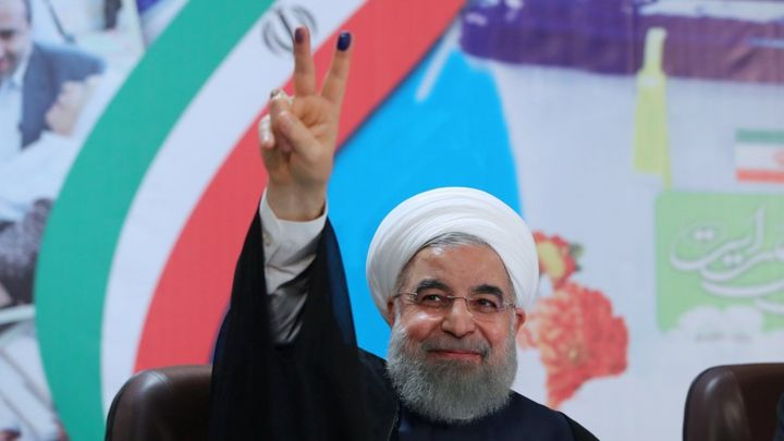 Iran's Hassan Rouhani wins second term as president