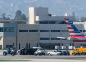 8 injured in plane-truck collision at Los Angeles airport