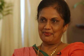 Ex-Sri Lankan President Chandrika meets Speaker