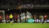 Football: Manchester attack scars Europa League final
