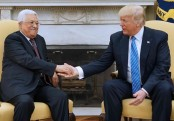 Trump meets Palestinian leader Abbas in West Bank