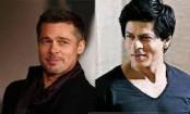 Brad Pitt lands in Mumbai, hobnobs with Shah Rukh Khan