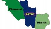 Police cordon off suspected militant den at Savar
