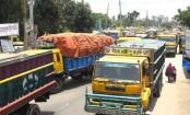 Transport workers block roads in Jamalpur for 5 hours