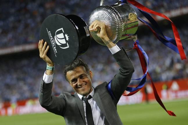Barcelona wins Copa del Rey in Luis Enrique's last game