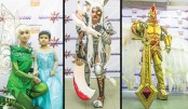 Cosplayers Use Costumes  To Unleash Their Superpowers