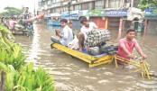 Waterlogging hits  life in Chittagong