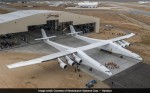 Microsoft co-founder Paul Allen just rolled out world's largest airplane