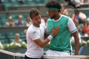 Nothing goes right for Tsonga in French Open loss