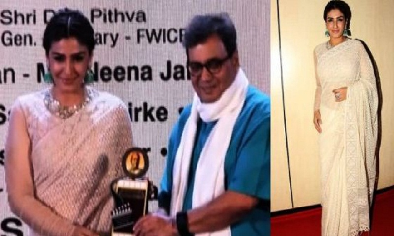 Raveena Tandon bags Dadasaheb Phalke Academy Award