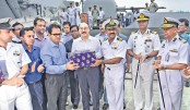 Indian Navy ship with relief goods reaches