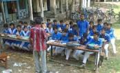 Gopalganj school students suffer classroom damage
