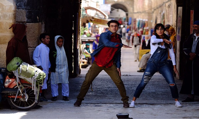 Ranbir Kapoor dances on the streets of Morocco