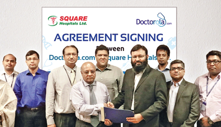 Doctorola ties up with Square Hospitals