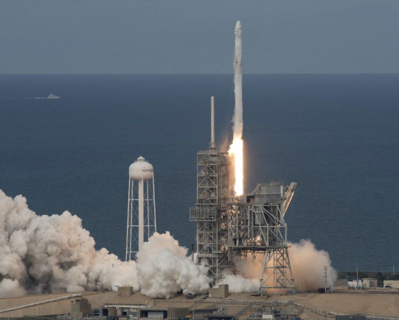 Spacex launches 1st recycled cargo ship daily for 11975 sunshine terrace