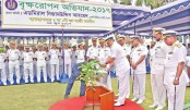 Navy tree plantation campaign begins